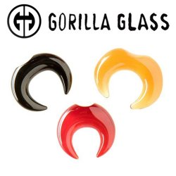 Gorilla Glass Septum Pincher 14 Gauge to 1/2""
