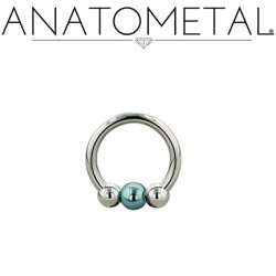 Anchor Captive Ring-Nipple Piercing Earring Body Jewelry Silver Color-Silver Color 12g Size:5//8-5