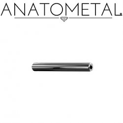 Anatometal Niobium Straight Barbell (Shaft Only, No Ends) 16g to 0g