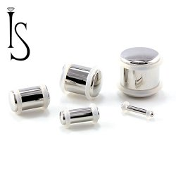 Industrial Strength Stainless Surgical Steel Solid Plug 14g to 5/8""