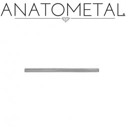 Anatometal Surgical Steel Straight Barbell (Shaft Only, No Ends) 14 Gauge 14g