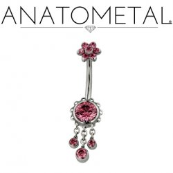 Titanium Navel Diablo Body Jewelry The Art Of High Quality