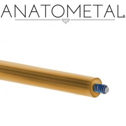 Anatometal Titanium Threaded Insertion Taper 8 Gauge 8g