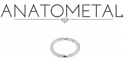 Anatometal Surgical Stainless Steel Seam Continuous Ring 14 Gauge 14g
