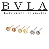 Bvla 14kt 18kt Gold Ares Nostril Screw Nose Bone Nail Ring Stud 20g 18g 16g Body Vision Los Angeles 08 18 88 0585 Ares Ns 152 50 Diablo Body Jewelry The Art Of High Quality