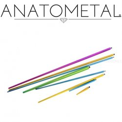 Anatometal Titanium Threaded Insertion Taper 18g 16g 14g 12g