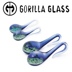 Gorilla Glass Zoa Lagrimas Ear Weights 6g 4g 2g (Pair)