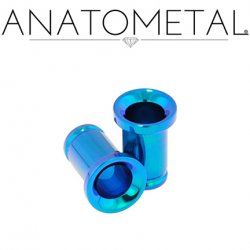 Anatometal Single Flare Titanium Eyelet 10g-7/8""