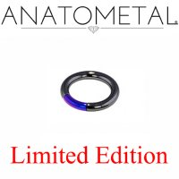 "Anatometal Niobium 7/8"" Segment Ring 10 Gauge 10g Limited Stock"