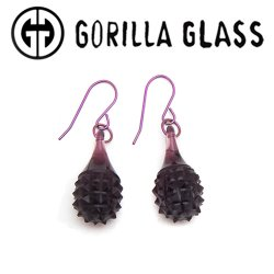Gorilla Glass Simple Drilo Earrings (Pair)