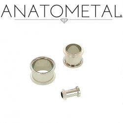 Anatometal Surgical Steel Single Flare Standard Eyelet 10g-7/8""