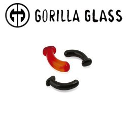 Gorilla Glass Conch T-Backs 6 Gauge to 1/2""