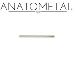 Anatometal Surgical Steel Straight Barbell (Shaft Only, No Ends) 18 Gauge 18g