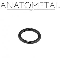 Anatometal Niobium Seam Continuous Seamless Ring 12 Gauge 12g
