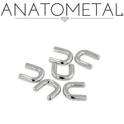 Anatometal Surgical Stainless Steel Septum Retainer 18g 16g 14g 12g 10g 8g