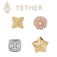 Tether Gold Threadless Ends