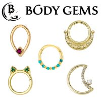 Body Gems Clickers & Seam Rings