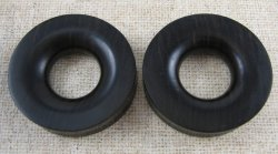 Black Ebony Eyelet 2 1/2""