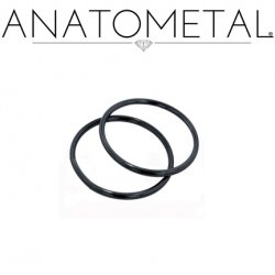 Anatometal Niobium Seam Continuous Seamless Ring 20 Gauge 20g