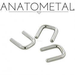 Anatometal Surgical Steel Septum Retainer 18g 16g 14g 12g 10g 8g