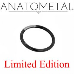 "Anatometal Niobium 7/16"" Segment Ring 12 Gauge 12g Limited Stock"