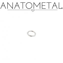 Anatometal Surgical Steel Seam Continuous Seamless Ring 18 Gauge 18g
