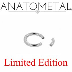 "Anatometal Surgical Steel 5/16"" Segment Ring 12 Gauge 12g Limited Edition"