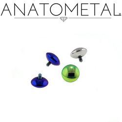 Anatometal Titanium M&M Threaded End 18 gauge 18g