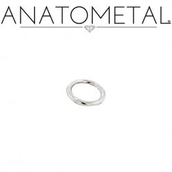Anatometal Surgical Steel Seam Continuous Seamless Ring 14 Gauge 14g