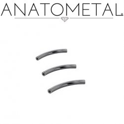 Anatometal Niobium Curved Barbell (Shaft Only, No Ends) 16g 14g 12g