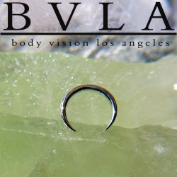 "BVLA 14kt & 18kt Gold ""Pincher"" Nose Nostril Septum Ring 14 Gauge 14g Body Vision Los Angeles"