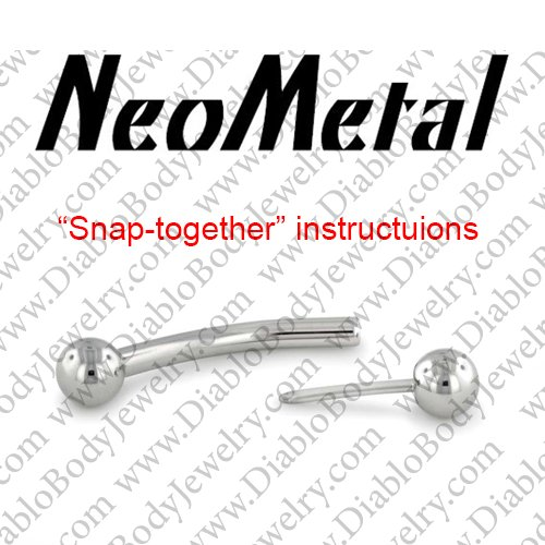 Neometal Threadless Snap Together Press Fit Instructions 0 00